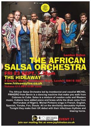 11 AFRICAN SALSA ORCHESTRA